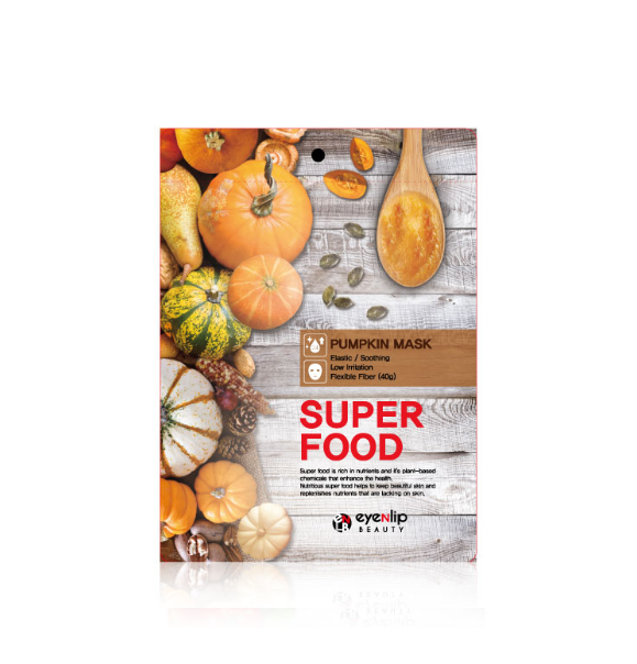 Eyenlip - Superfood Sheet Mask Pumpkin