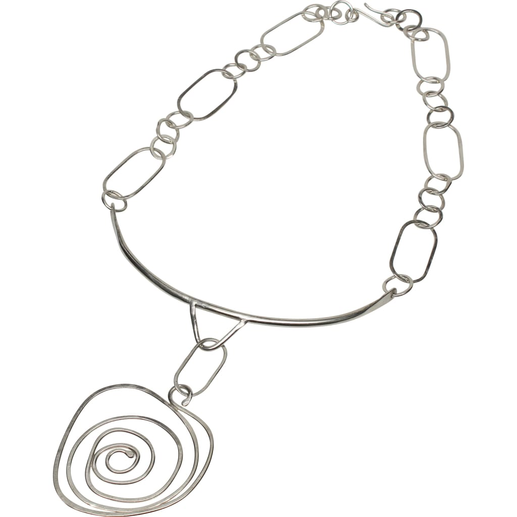 Celebrate the Journey Argentium Silver Statement Necklace Necklaces