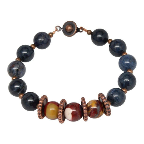 'Something New' Semi-Precious Gemstone Beaded Bracelet
