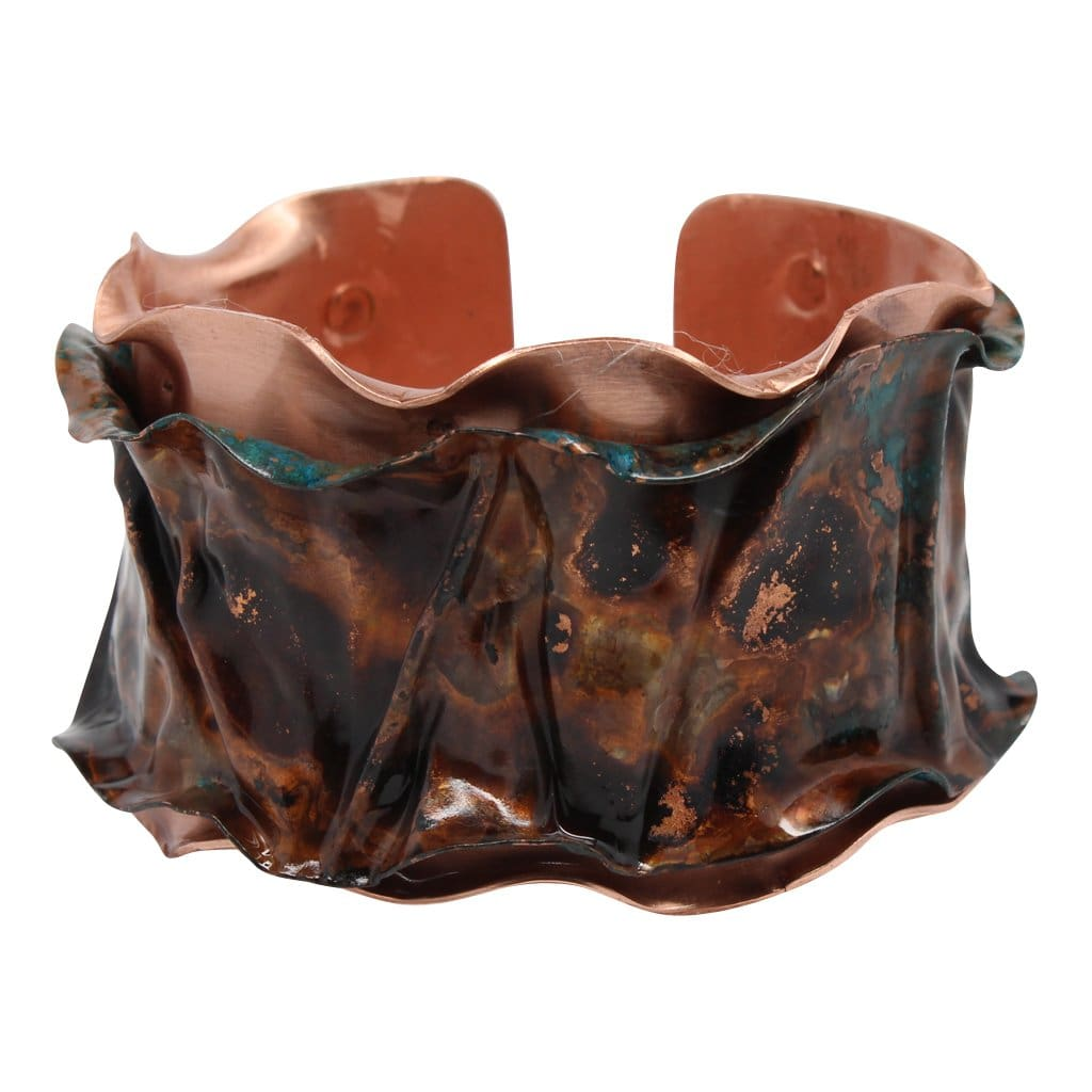 Sea Treasure Copper Cuff Bracelet Bracelets