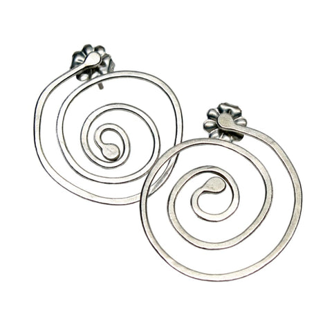 These Dangling Hoops - Large Version