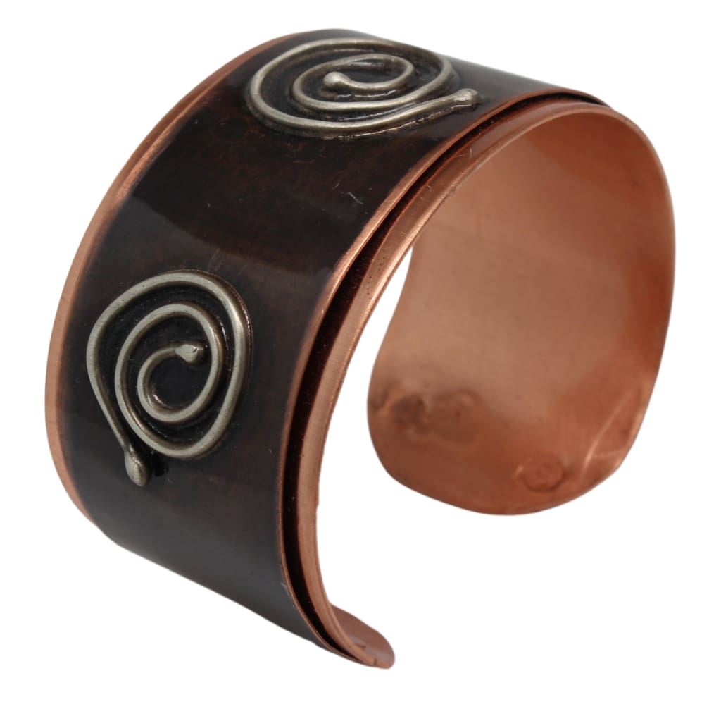 The Journey Mixed Metal Cuff Bracelet Bracelets