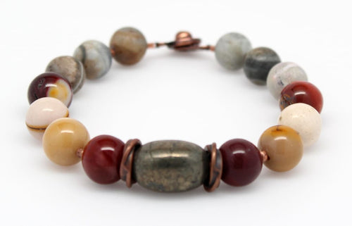 Time For Change Beaded Gemstone Stackable Bracelet Bracelets