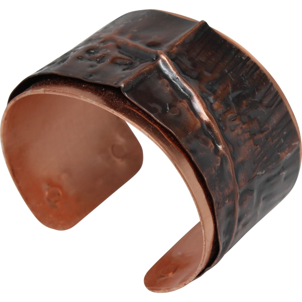 Warrior Woman Antiqued Copper Cuff Bracelet Bracelets