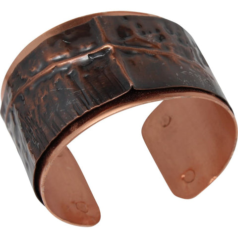 Copper and Silver Drama Cuff Bracelet 2