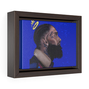 Eternal Hussle Framed Premium Gallery Wrap Canvas