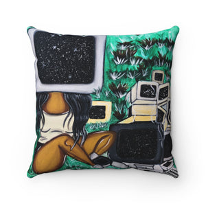 CTRL Throw Pillow