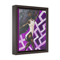 Black Girls Do Ballet Framed Premium Gallery Wrap Canvas