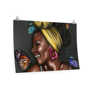Butterfly Kisses Posters