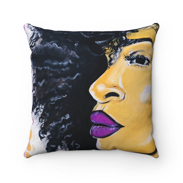 Ms. Twenty-Something Throw Pillow