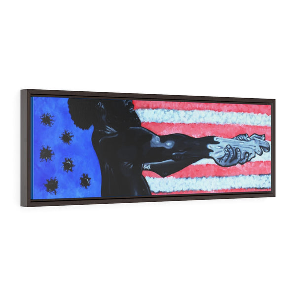 This is America Framed Premium Gallery Wrap Canvas