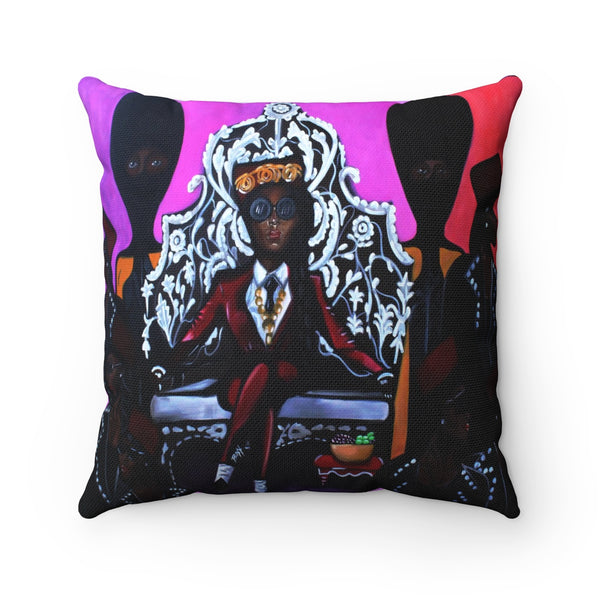 Django Jane Spun Polyester Square Pillow