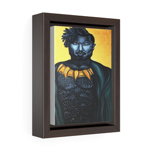 Killmonger Framed Premium Gallery Wrap Canvas