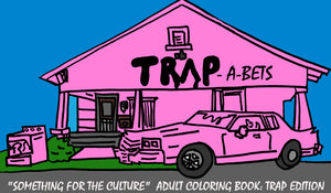 Trap-A-Bets Adult Trap Coloring Book
