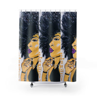 Ms. Twenty-Something Shower Curtains
