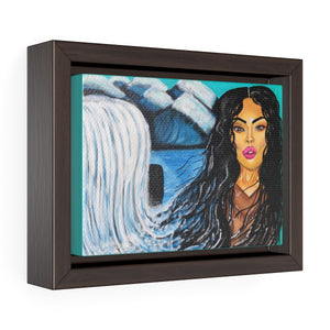 Mochahontas Streams Framed Premium Gallery Wrap Canvas