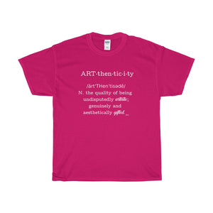 Arthenticity Definition Heavy Cotton T-Shirt