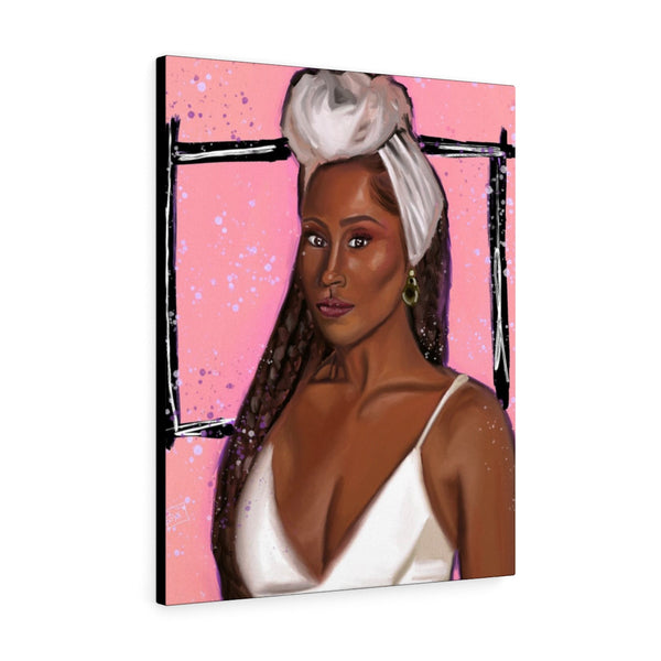 Issa Rae Canvas Gallery Wraps