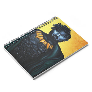 Killmonger Spiral Notebook