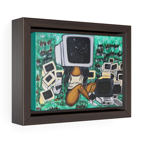 CTRL Framed Premium Gallery Wrap Canvas
