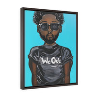 We Out Framed Premium Gallery Wrap Canvas
