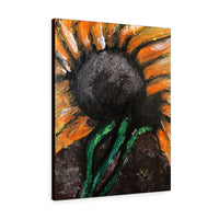 Sunflower Jay Canvas Gallery Wraps