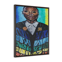 Lena Waithe Framed Gallery Wrap Canvas
