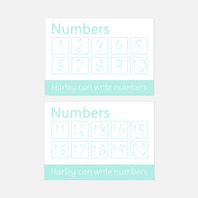 Number Formation | Numbers 1-20 Wipe Clean Learning Mats by Little Boo Learning | EYFS Educational Learning Resources