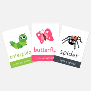 Minibeasts flashcards | EYFS Learning resources for kids and pre-schoolers