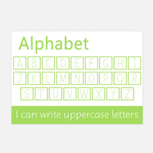 Uppercase Alphabet Handwriting Practice Learning Mat by Little Boo Learning
