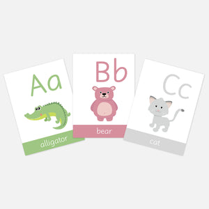Alphabet Flash Cards | ABC Flashcards | EYFS Learning Resources for Toddlers