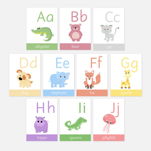 Alphabet Flash Cards | A-Z Flash Cards | EYFS Learning Resources for Toddlers