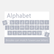 Alphabet Matching Velcro Learning Mat by Little Boo Learning