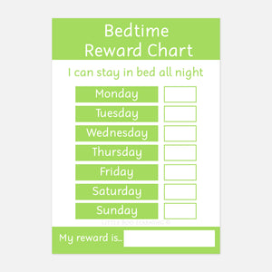 'Stay in Bed' Bedtime Reward Chart (DIGITAL DOWNLOAD)