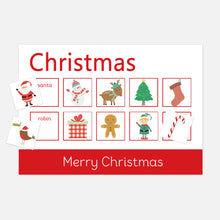 Christmas Learning Mats by Little Boo Learning | Educational resources for toddlers and pre-school children | Homeschool Fun