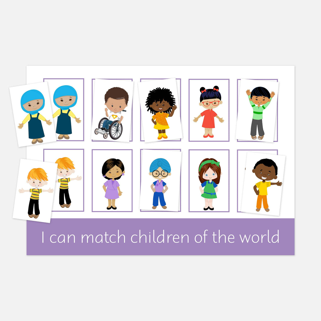 Children of the world | Learning resources to promote diversity and inclusion, race, gender, culture and religion
