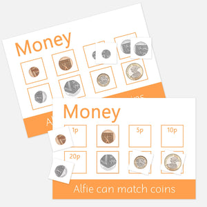 money (coins) learning mat | resources for toddlers and pre-schoolers