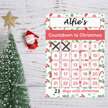 Wipeable Countdown to Christmas Mat by Little Boo Learning | Alternative to Chocolate Advent Calender | Practise numeracy skills.