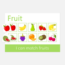 Fruit & Veg Learning Mats | Educational Learning Resources for Toddlers by Little Boo Learning