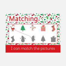 Set of 6 Christmas Activity Mats | Printable Learning Resources by Little Boo Learning