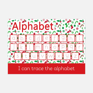 Christmas Edition Alphabet Learning Mat by Little Boo Learning