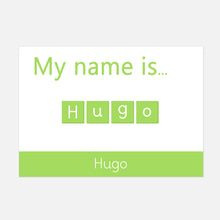 My name is... Spelling Mat | Help your child learn to recognise and read their name | Resources by Little Boo Learning