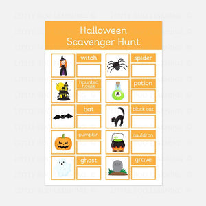 Halloween Scavenger Hunt | Digital Download
