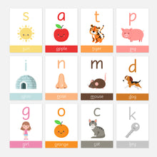 Phonics Phase 2 Pre-School / Reception Flashcards