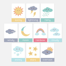 New Style Weather Flashcards