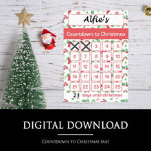 Countdown to Christmas Mat | Digital Download