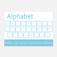 Lowercase Alphabet Wipe Clean Learning Mat | Little Boo Learning