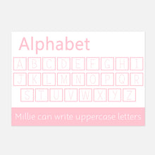 Uppercase Alphabet Wipe Clean Learning Mat | Little Boo Learning