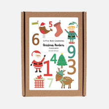 Christmas Number Flashcards for Toddlers | Flashcards for kids