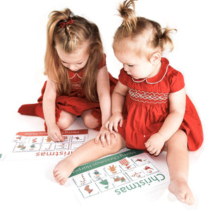 Christmas learning mat | Toddler Activities